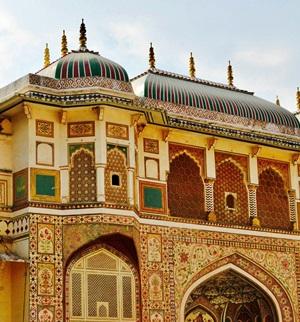 Das Amber Fort bei Jaipur