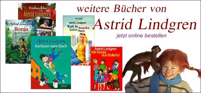 Bücher von Astrid Lindgren online bestellen