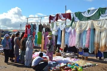 Basar in Kirgistan