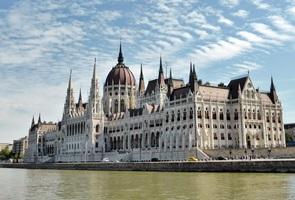 Budapest - das Parlament an der Donau