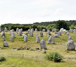 Steinfelder von Carnac