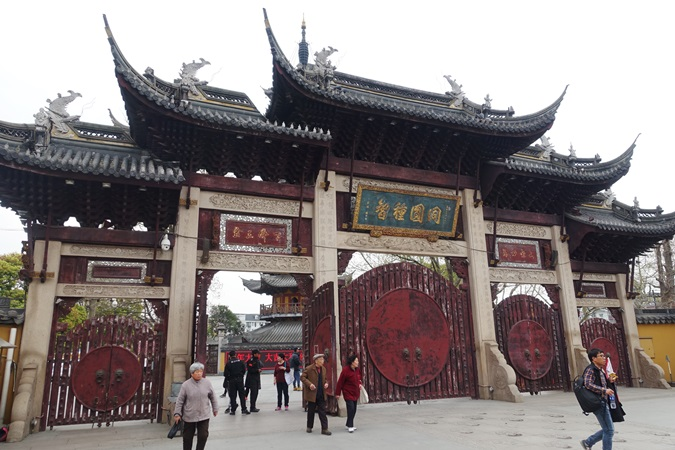 China-Rundreise - Tempel in Shanghai
