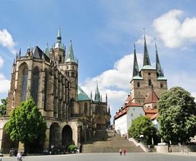 Thüringen - Dom in Erfurt