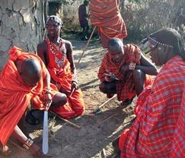 Urlaub in Kenia - Besuch bei den Massai