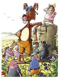 Die Knöllchenbande - der Hase Lampo