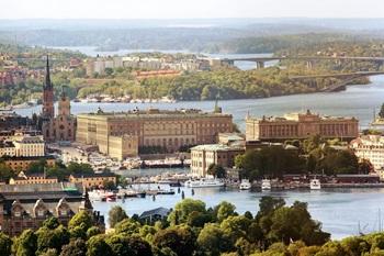 Stockholm - Schönheit am Wasser