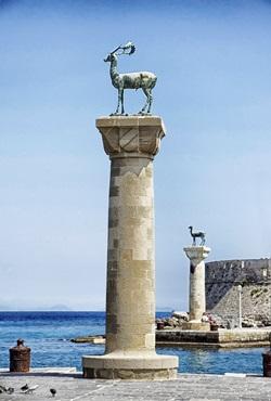 Griechenland - Hafen von Rhodos