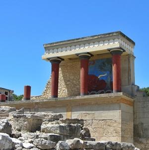 Urlaub in Griechenland - Knossos auf Kreta